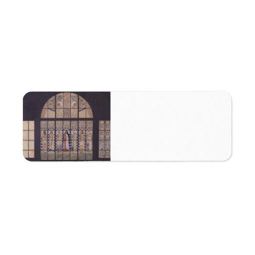 Moser-Diseño de Koloman para la ventana eastside e Etiquetas De Remite