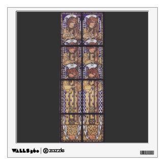 Moser-Iglesia Steinhof, dibujo de Koloman del ánge