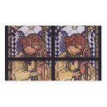 Moser-Iglesia Steinhof, dibujo de Koloman del ánge Tarjetas De Visita