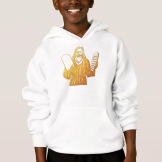 Moses - 10 Commandments - Greatest Commandment Hoodie