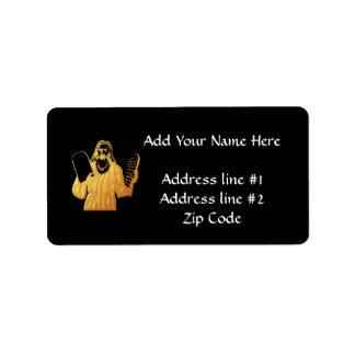 Moses - 10 Commandments - Greatest Commandment Label
