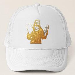 Moses - 10 Commandments - Greatest Commandment Trucker Hat
