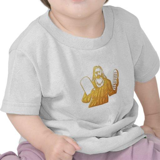 Moses - 10 Commandments - Greatest Commandment Shirt