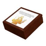 Moses - 10 mandamientos - el mandamiento más grand cajas de recuerdo