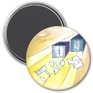Moses 3 Inch Round Magnet