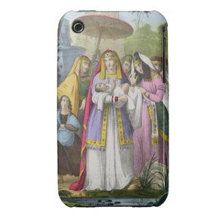 Moses ahorró por la hija del Pharaoh, de una banda iPhone 3 Cárcasa