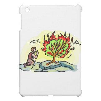 Moses and burning bush Christian artwork iPad Mini Cover