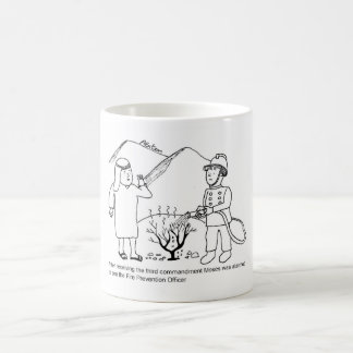 Moses and Fire Prevention Officer Classic White Coffee Mug