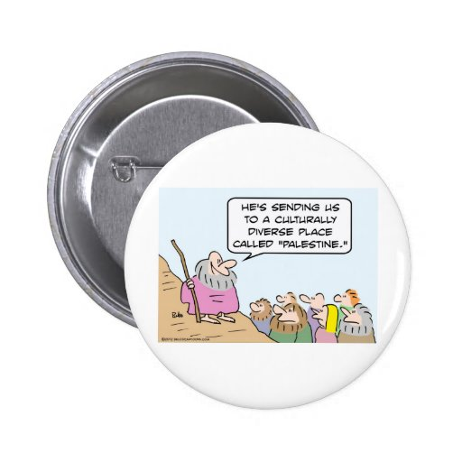 Moses and multiculturalism pin