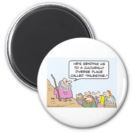 Moses and multiculturalism magnet