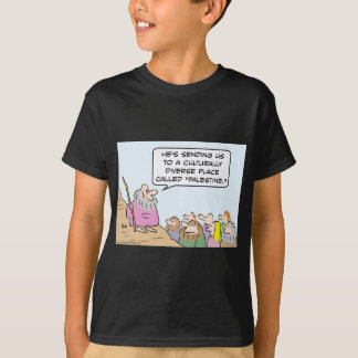 Moses and multiculturalism T-Shirt