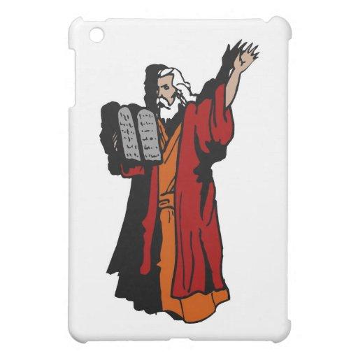 Moses and ten commandments cover for the iPad mini