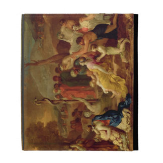Moses and the Brazen Serpent, c.1653-54 (oil on ca iPad Cases