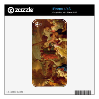 Moses and the Brazen Serpent, c.1653-54 (oil on ca iPhone 4 Skins