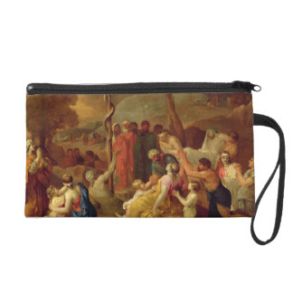 Moses and the Brazen Serpent, c.1653-54 (oil on ca Wristlet Purse