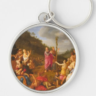 Moses and the Brazen Serpent Key Chain