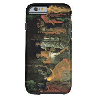 Moses and the Brazen Serpent (oil on canvas) Tough iPhone 6 Case