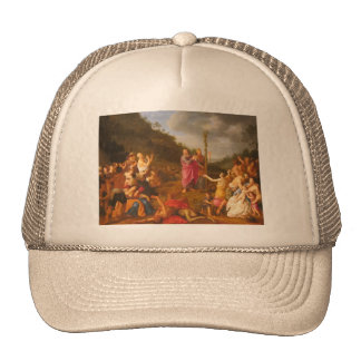 Moses and the Brazen Serpent Trucker Hat