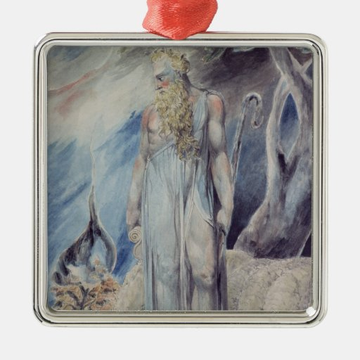 Moses and the Burning Bush Christmas Tree Ornament