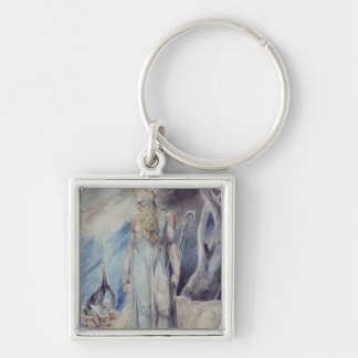 Moses and the Burning Bush Keychain