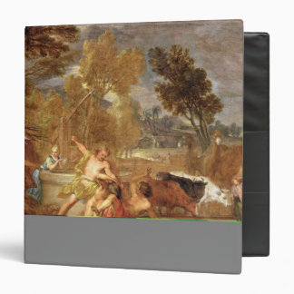 Moses and the Daughters of Jethro 3 Ring Binder