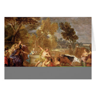 Moses and the Daughters of Jethro Card