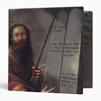 Moses and the Tablets of the Law Binder