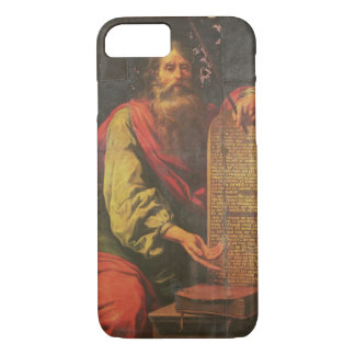 Moses and the Tablets of the Law iPhone 7 Case