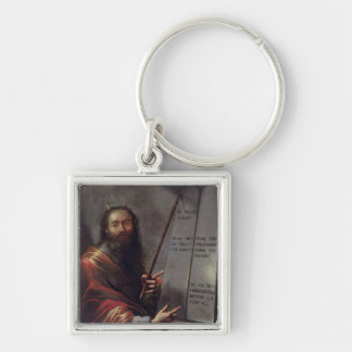 Moses and the Tablets of the Law Keychains