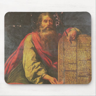 Moses and the Tablets of the Law Mouse Pad