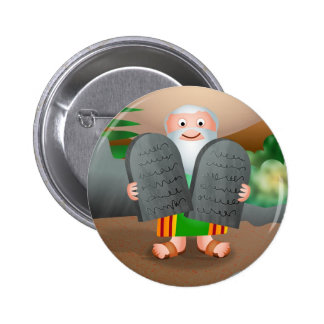 Moses and The Ten Commandments Bible Story Button