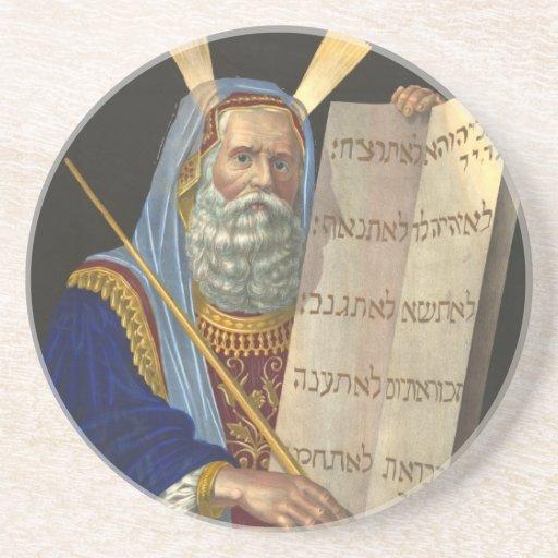 Moses and the Ten Commandments coaster