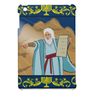 Moses and the Ten Commandments iPad Mini Covers
