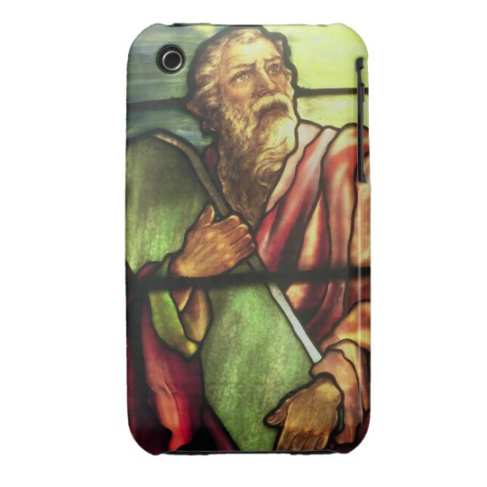 Moses and the Ten Commandments iPhone 3 Cover
