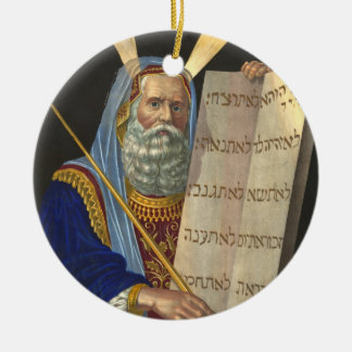 ''Moses and the Ten Commandments'' ornament