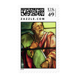 Moses and the Ten Commandments Postage Stamp