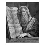 """""""Moses and the Ten Commandments"""" print/poster Poster"""
