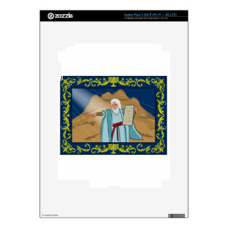 Moses and the Ten Commandments Skins For iPad 3