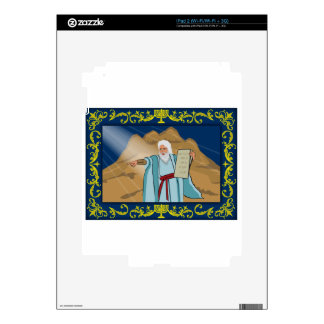 Moses and the Ten Commandments Skin For iPad 2