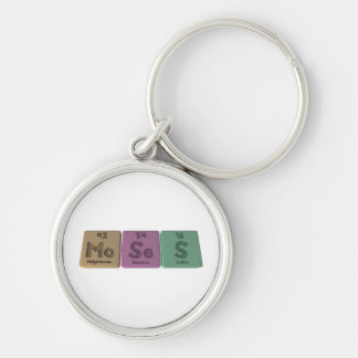 Moses as Molybdenum Selenium Sulfur Keychains