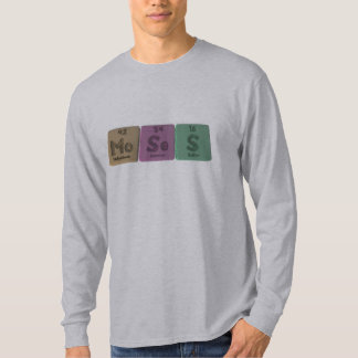 Moses as Molybdenum Selenium Sulfur T-Shirt