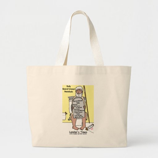 Moses' Bathroom Reading Funny Gifts & Tees Bags