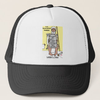 Moses' Bathroom Reading Funny Gifts & Tees Trucker Hat