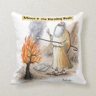 Moses Burning Bush Marshmallow Pillow