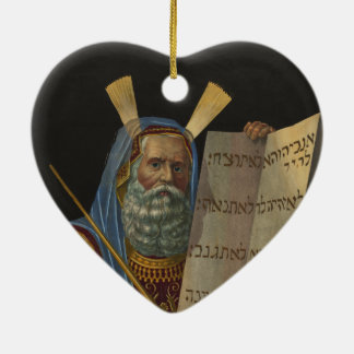 Moses by Henry Schile 1874 Ceramic Ornament