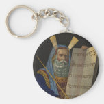 Moses by Henry Schile 1874 Key Chain