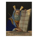 Moses by Henry Schile 1874 Postcard