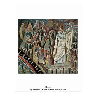 Moses By Master Of San Vitale In Ravenna Postcard