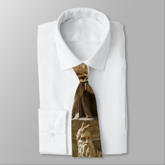 Moses by Michelangelo Neck Tie