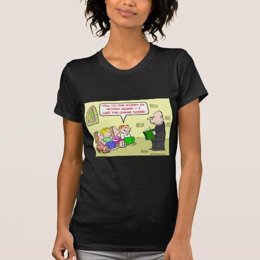 moses chase scene sunday school shirts